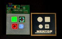 MENTOR illuminated switch caps.