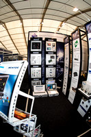 MENTOR electronic components on display at Southern Manufacturing & Electronics Exhibition 12 & 13 Feb 2014.